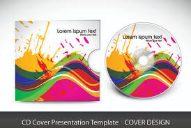 Illustrator Cd Cover Template Free Vector Download 220 909 Free Free Cd Template