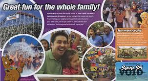 Six Flags The Great Escape Theme Park Brochures The Great Escape Theme Park Brochures