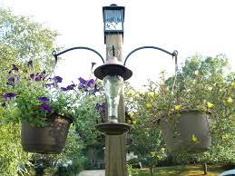 bird hooks home decor diy freestanding bird feeder and flower post we call it junkin