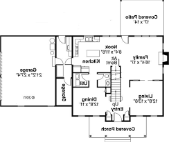 wonderful simple house floor plan with dimensions 654151 one story