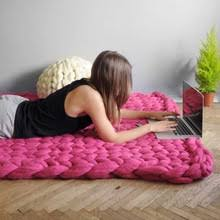 Knitting Home Decor Knitted Throw Promotion Shop For Promotional Knitted Throw On
