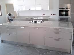cuisine marbre blanc meuble cuisine marbre meuble et déco