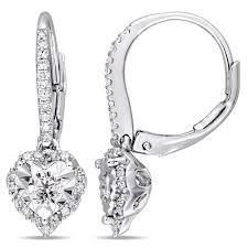 leverback diamond earrings diamond earrings