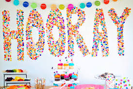 Room Decorating Ideas With Paper 15 Diy Birthday Party Decoration Ideas Cute Homemade Birthday