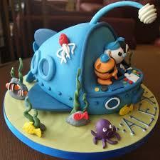 octonauts birthday cake octonauts children s novelty birthday cake by i that cake co