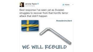 Sweden Meme - trump tries to explain remark about sweden amid confusion bbc news