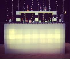 everblock everblock systems llc everblock light up bar partyslate