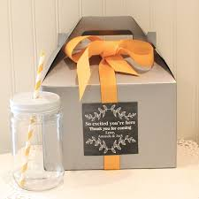 out of town guest bags favor box 6 out of town guest box welcome box wedding