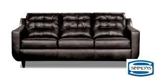 Simmons Sleeper Sofa by Bentley Black Sofa Sofa Store Warehouse Outlet Bronx Brooklyn
