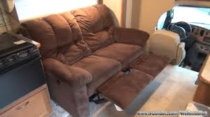 Toy Hauler Furniture For Sale by Installing A Reclining Loveseat In Our Rv Youtube