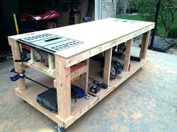 table saw workbench plans garage workbench plans workbenches garage workbench plans