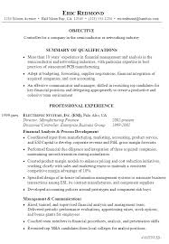 Hybrid Resume Example by Resume Example For A Controller Susan Ireland Resumes