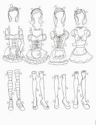 miss missy paper dolls halloween doll 3