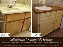 bathroom vanity makeover ideas painting bathroom vanity before and after imposing decoration home