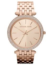 rose tone stainless steel bracelet images Michael kors women 39 s darci rose gold tone stainless steel bracelet tif
