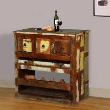 Wood Wine Cabinet White Washed Reclaimed Wood Wine Rack Bar Cabinet