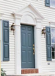 Exterior Door Pediment And Pilasters Pilasters And Door Pediments And Crossheads By Fypon