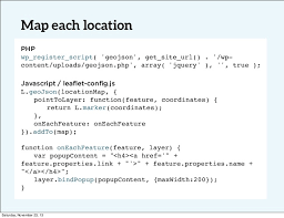 php array map responsive maps in