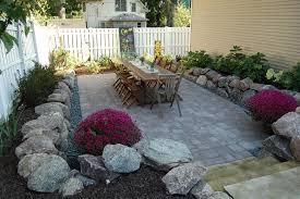 Sunken Patio Landscape Design Landscape Installation Wedding Florist Des
