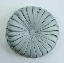 cuscini rotondi vezo casa fatti a mano divano raso decorativo cuscini rotondi