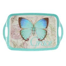 butterfly serving platter butterfly blessings melamine serving tray christian gifts