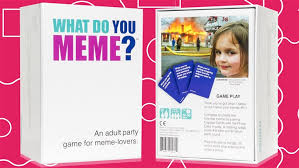 Say What You Meme Game - game ideas for kids adults teens and family game night