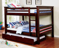 Full Over Full Bunk Beds Full Size Bunk Bed With Trundle - Full sized bunk beds