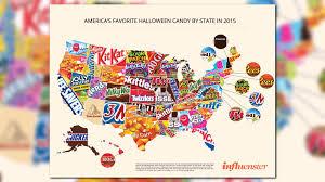 Ces Map The Candy Map That U0027s Dividing America Wtsp Com