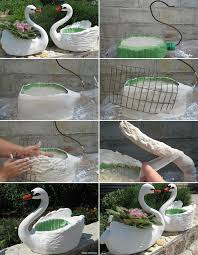 design outlet center neumã nster try these plastic bottle swan planters for your garden http