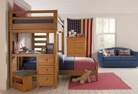 Fun Ideas Bunk Bed Desk  Desk And All Home Ideas - Kids bunk beds furniture