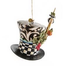 mackenzie childs mad hatter ornament