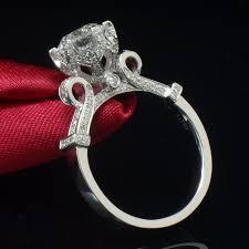 big ladies rings images 925 sterling silver wedding rings jewelry ladies big round cubic jpg