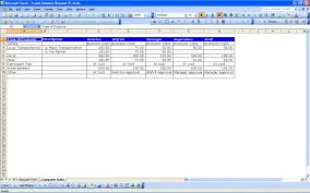 Travel Spreadsheet Excel Templates Travel Request Form Excel Templates