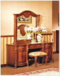 Vintage Style Vanity Table Vintage Dressing Table French Country Makeover With Mirror And