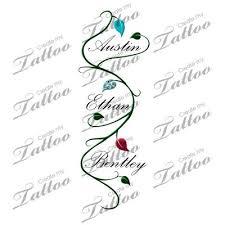 children u0027s name with vine tattoo wish i wasn u0027t so afraid of