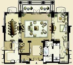 Caesars Palace Suites Floor Plans The Floor Plan Of The Presidential Suite Image Hotel