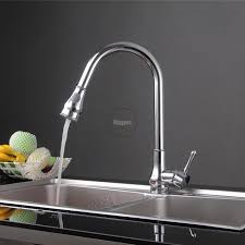 made kitchen faucets arrival pull out kitchen faucet brass made chrome finished mixer