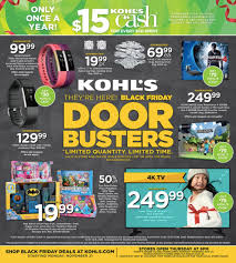 sony tv black friday deal kohl u0027s black friday 2016 ad just leaked apple watch deals and