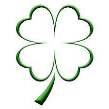 four leaf clover coloring page clipart best clovers