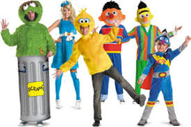 Sesame Street Halloween Costumes Adults Group Costume Ideas Halloween 2017