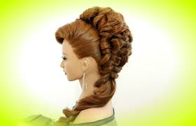 wedding hairstyle for long hair youtube