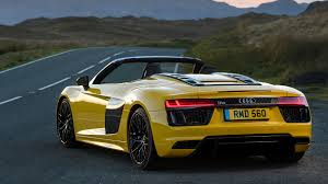 audi supercar audi r8 v10 spyder 2017 review by car magazine