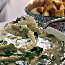 cuisine florentine chicken florentine soup and food