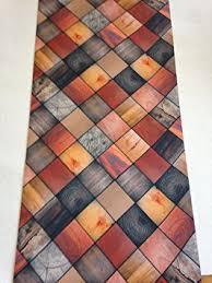 tapis de cuisine lavable en machine lavelahome tapis de cuisine antidérapant impression effet parquet 52