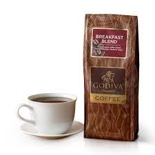 breakfast blend coffee godiva