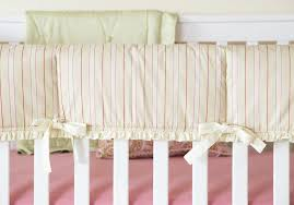 crib rail guard bumper free bedding bumper alternatives