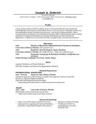 free basic resume basic resume template for microsoft word pics