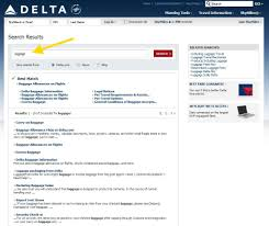 delta airlines baggage policy a delta air lines request don u0027t just google use our search on