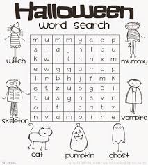 halloween coloring pages word searches 3 arterey info