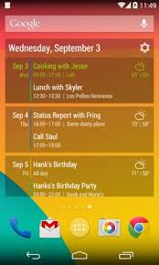 cool android widgets 14 best free calendar app for android widgets getandroidstuff